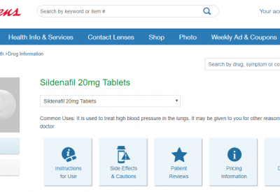 Sildenafil Walgreens – Is It Cheaper to Get Sildenafil in Walgreens or Online